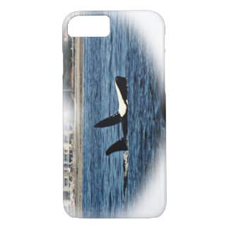 Awesome Killer Whale Belly up iPhone 7 Case
