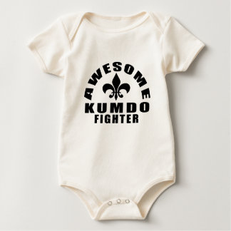 AWESOME KUMDO FIGHTER BABY BODYSUIT