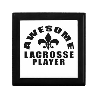 AWESOME LACROSSE PLAYER GIFT BOXES