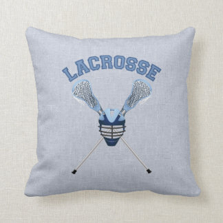 Awesome Lacrosse Tees and Gifts Throw Pillow