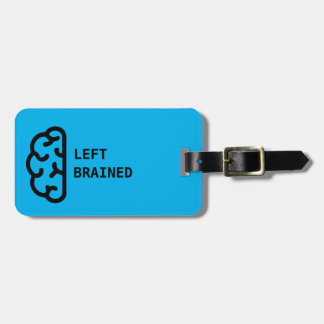 Awesome Left Brained Luggage Tag