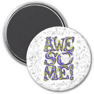 """""""Awesome!"""" Lettering Magnet"""