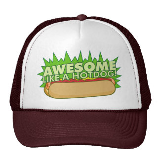 Awesome Like a Hot Dog Hat