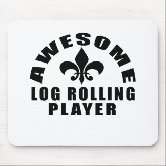 AWESOME LOG ROLLING PLAYER MOUSE PAD