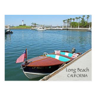 Awesome Long Beach Postcard! Postcard