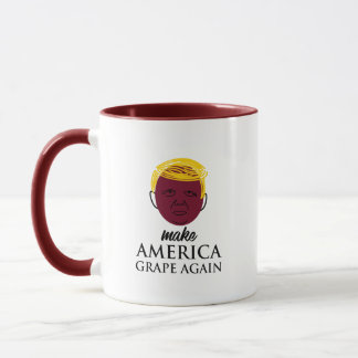 Awesome Make America Grape Again Mug Foodies gift