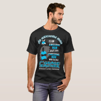 Awesome Man 5th Grade Teacher Lethal Combination T-Shirt