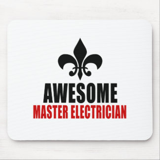 AWESOME MASTER ELECTRICIAN MOUSE PAD