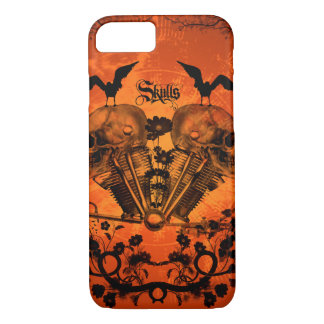 Awesome mechanical skull iPhone 7 case
