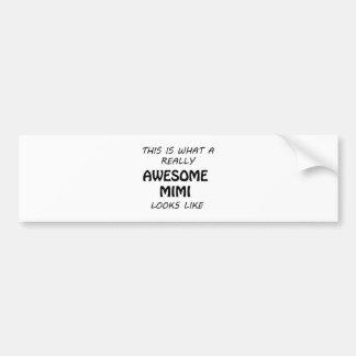 Awesome Mimi Bumper Sticker