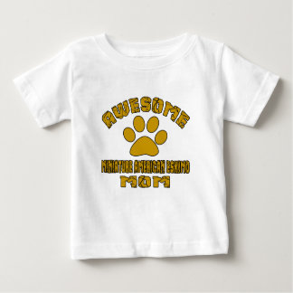 AWESOME MINIATURE AMERICAN ESKIMO MOM BABY T-Shirt