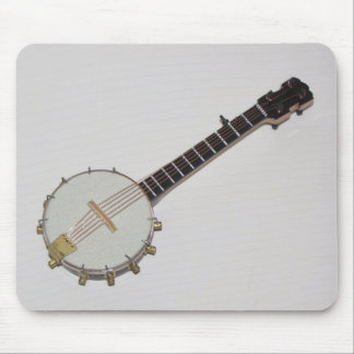 Awesome Miniature Banjo Mouse Pad