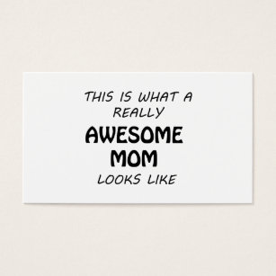 Mothers day business cards business card printing zazzle ca awesome mom business card colourmoves