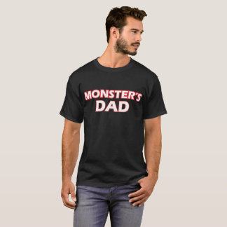 Awesome Monsters Dad T-Shirt
