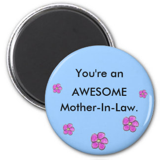 Awesome Mother-In-Law magnet