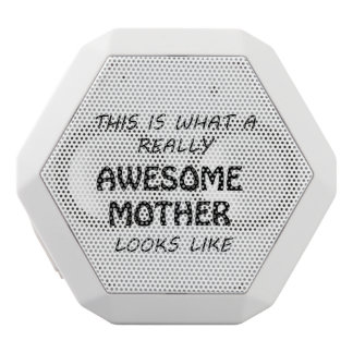 Awesome Mother White Bluetooth Speaker