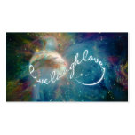 "Awesome mystic ""Live Laugh Love"" infinity symbol Pack Of Standard Business Cards"