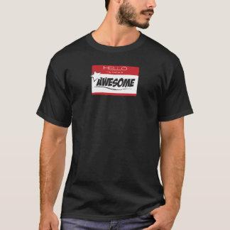 Awesome Nametag T-Shirt
