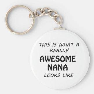 Awesome Nana Keychain