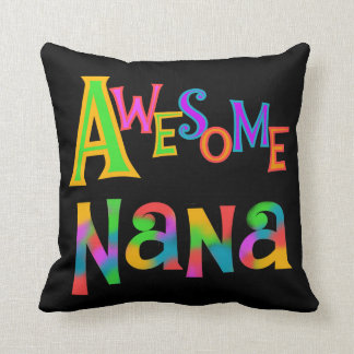 Awesome Nana T-shirts and Gifts Throw Pillow