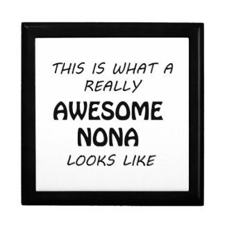 Awesome Nona Gift Box