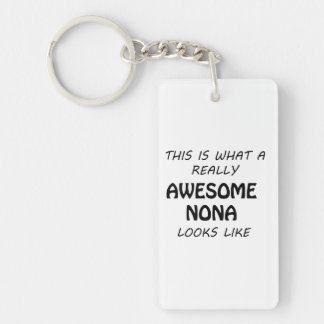 Awesome Nona Keychain