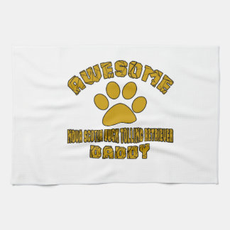 AWESOME NOVA SCOTIA DUCK TOLLING RETRIEVER DADDY KITCHEN TOWELS