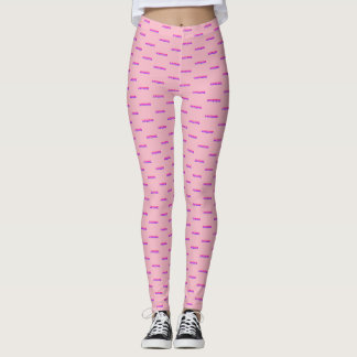 Awesome on Pink Leggings