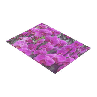 awesome orchids pink doormat