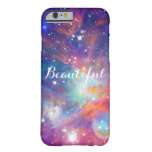"Awesome Orion nebula shining stars ""Beautiful"" Barely There iPhone 6 Case"