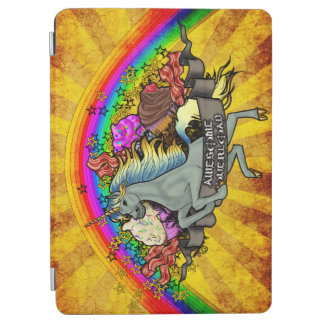 Awesome Overload Unicorn, Rainbow & Bacon 9.7""