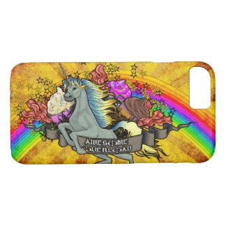 Awesome Overload Unicorn, Rainbow & Bacon Case-Mate iPhone Case