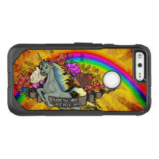 Awesome Overload Unicorn, Rainbow & Bacon OtterBox Commuter Google Pixel Case
