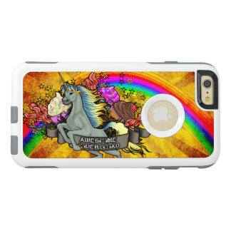 Awesome Overload Unicorn, Rainbow & Bacon OtterBox iPhone 6/6s Plus Case