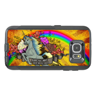 Awesome Overload Unicorn, Rainbow & Bacon OtterBox Samsung Galaxy S6 Case