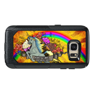 Awesome Overload Unicorn, Rainbow & Bacon OtterBox Samsung Galaxy S7 Case