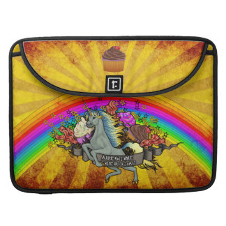 Awesome Overload Unicorn, Rainbow & Bacon Sleeve For MacBook Pro