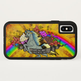 Awesome Overload Unicorn, Rainbow & Bacon Tough X Case-Mate iPhone Case