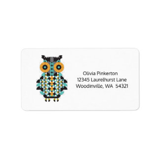 Awesome Owl Address Labels
