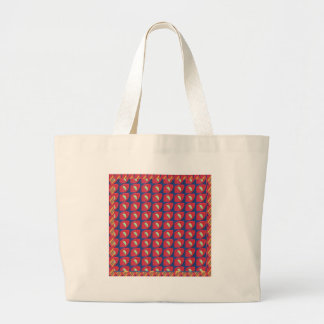 Awesome Patterns Colorful Graphics Digital Fineart Large Tote Bag