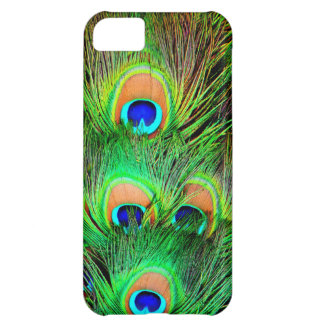 Awesome Peacock Colorful Feather Design Cover For iPhone 5C