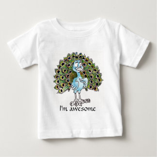 Awesome Peacock Infant T-shirt