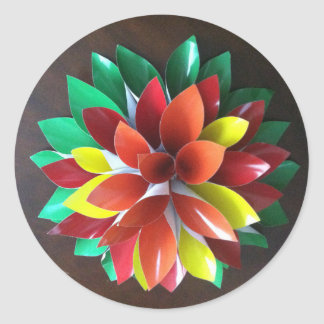Awesome Petal's Round Sticker