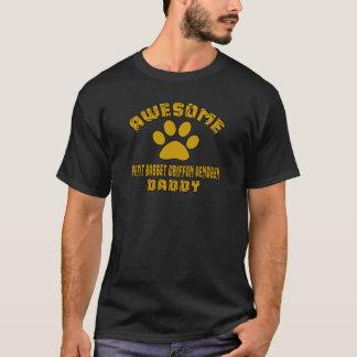 AWESOME PETIT BASSET GRIFFON VENDEEN DADDY T-Shirt