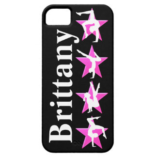 AWESOME PINK PERSONALIZED GYMNASTICS IPHONE CASE