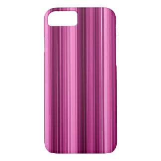 Awesome Pink Stripes iPhone 7 Case