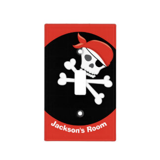 Awesome Pirate Kids Room Light Switch Cover