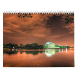 Awesome Places and Lanscapes of the World Calendar