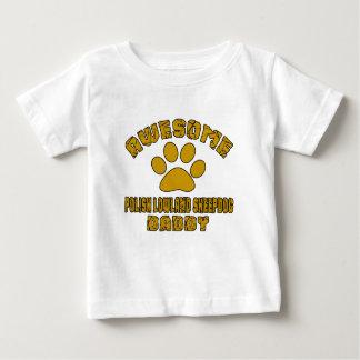 AWESOME POLISH LOWLAND SHEEPDOG DADDY BABY T-Shirt