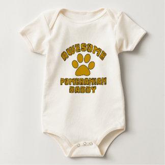 AWESOME POMERANIAN DADDY BABY BODYSUIT